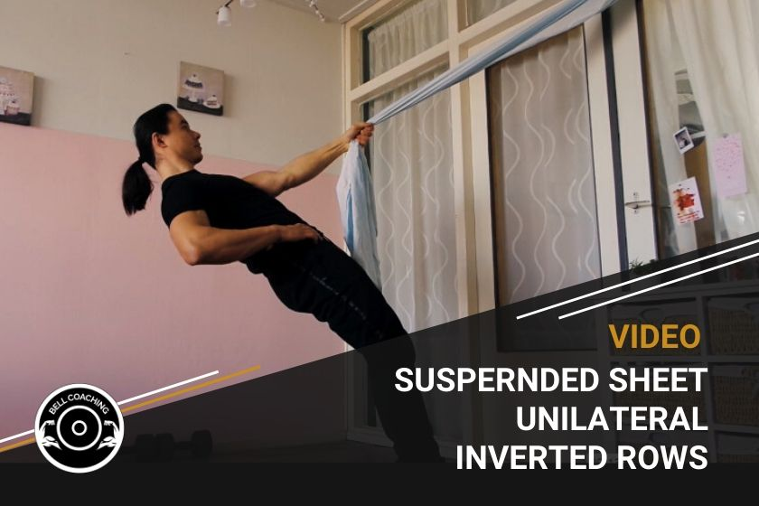 Suspended Sheet Unilateral Inverted Rows
