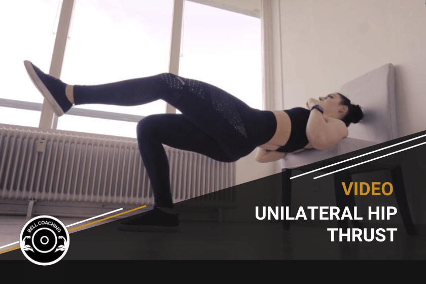Unilateral Hip Thrust